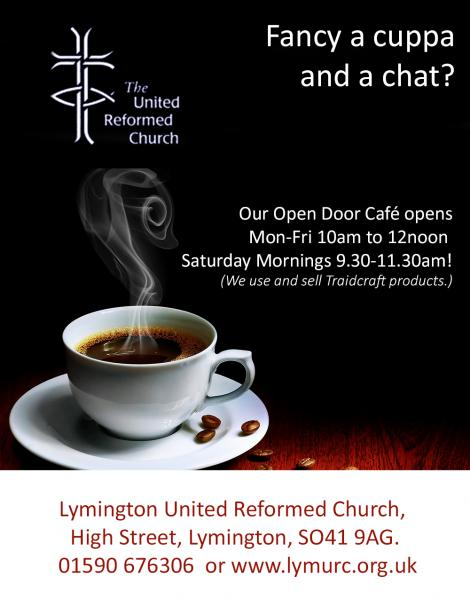 Coffee at Lymington URC