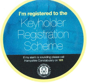 Keyholder Scheme