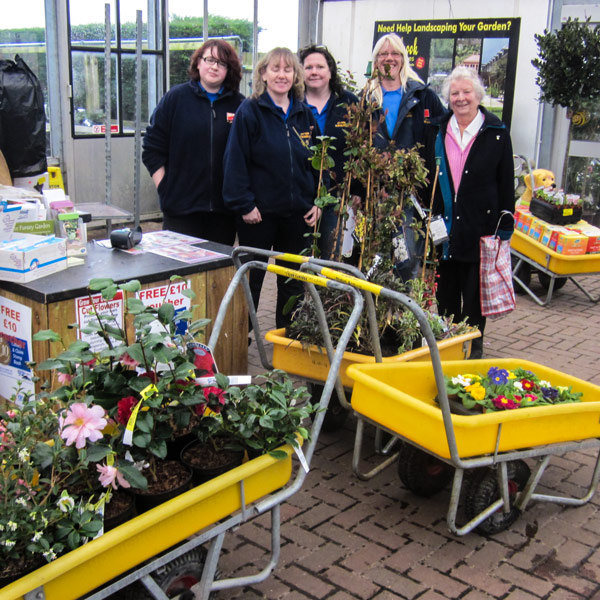 Garden makeover for Lymington URC