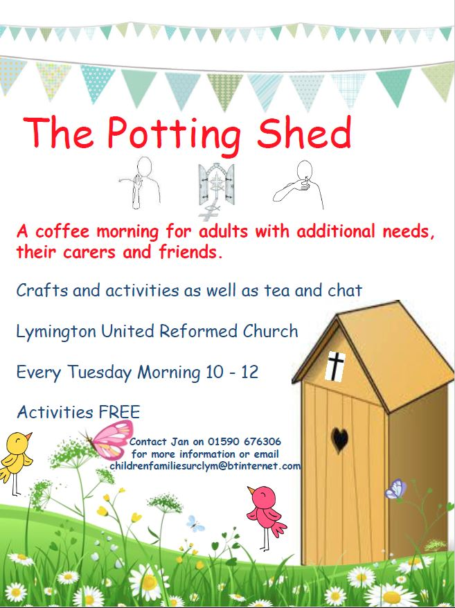 The Potting Shed for adults with additional needs